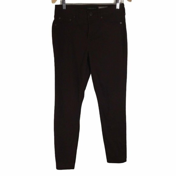 Aeropostale Brown High-Waisted Jegging Women's 8